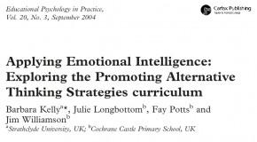 Applicazione dell'intelligenza emotiva: esplorazione della promozione del PATHS