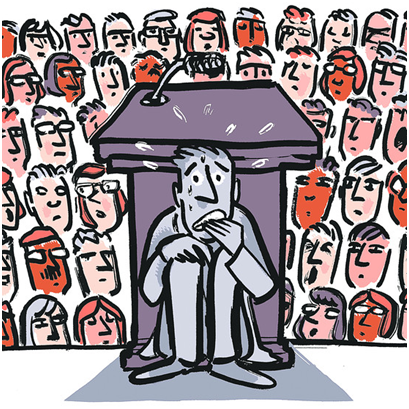superare l'ansia di parlare in pubblico