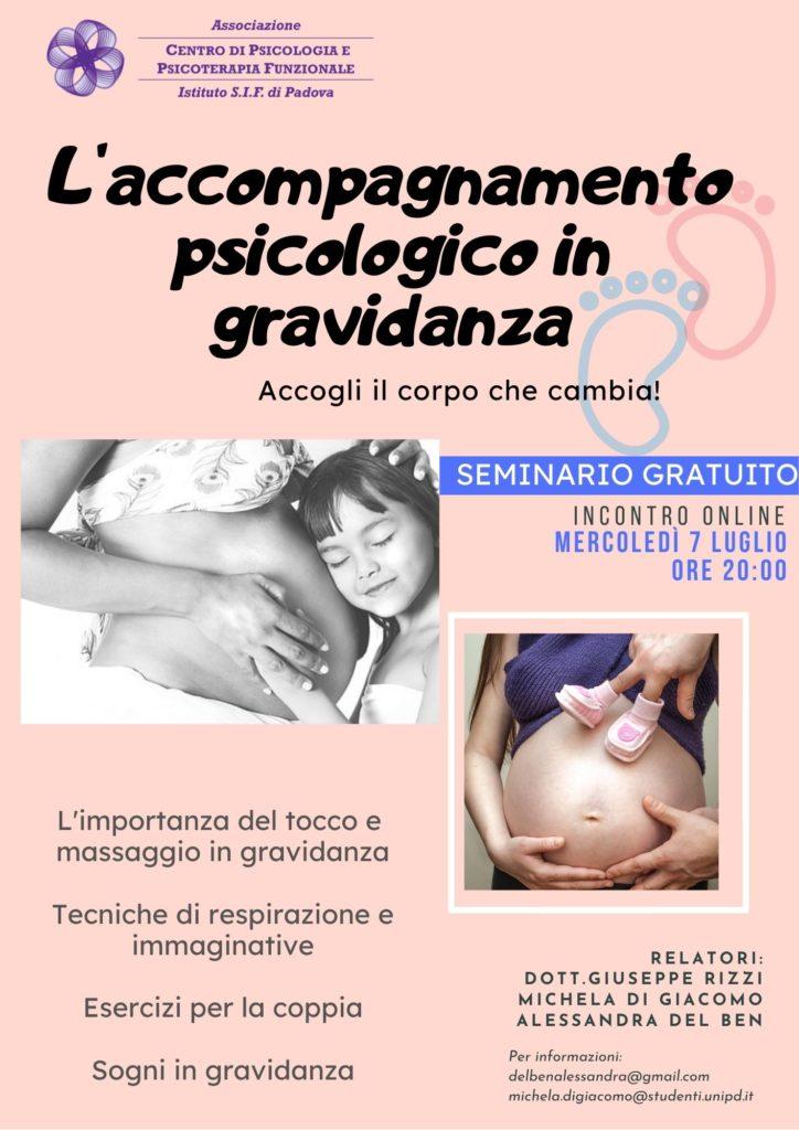 volantino gravidanza
